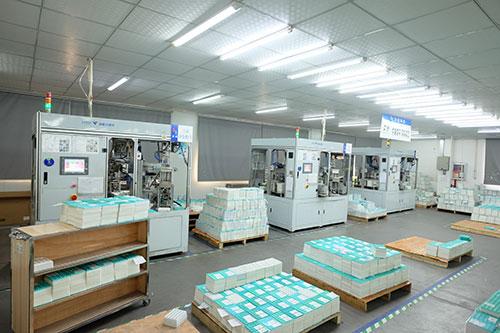 扣式电池全自动检测生产线